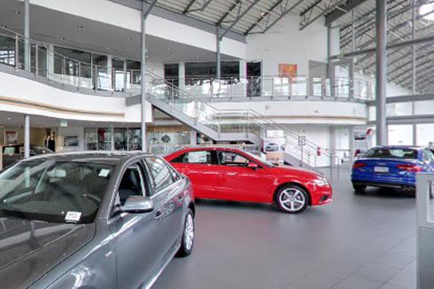 Audi Coral Springs - showroom