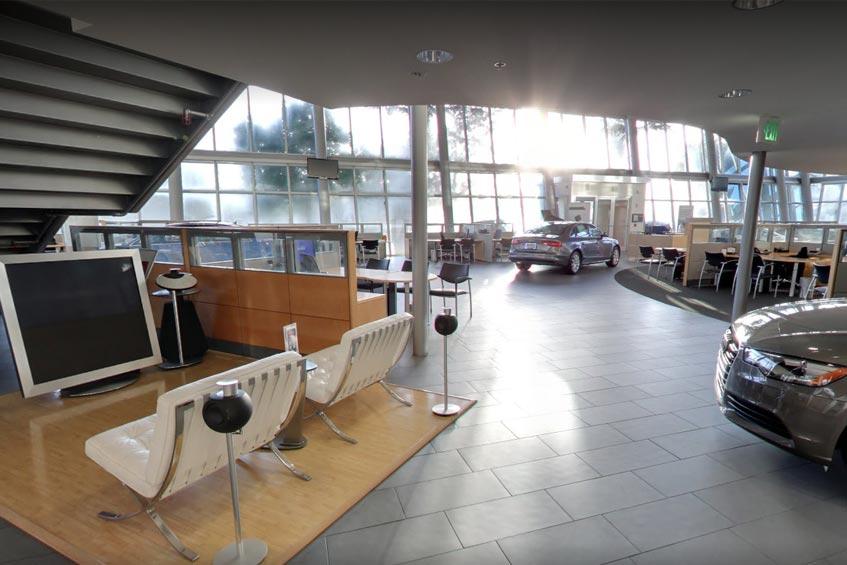 Audi Coral Springs - showroom