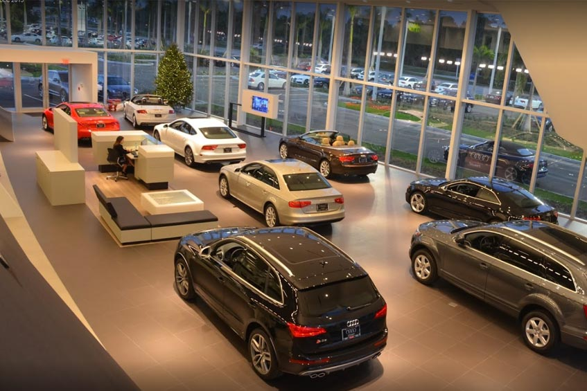 Audi Stuart showroom