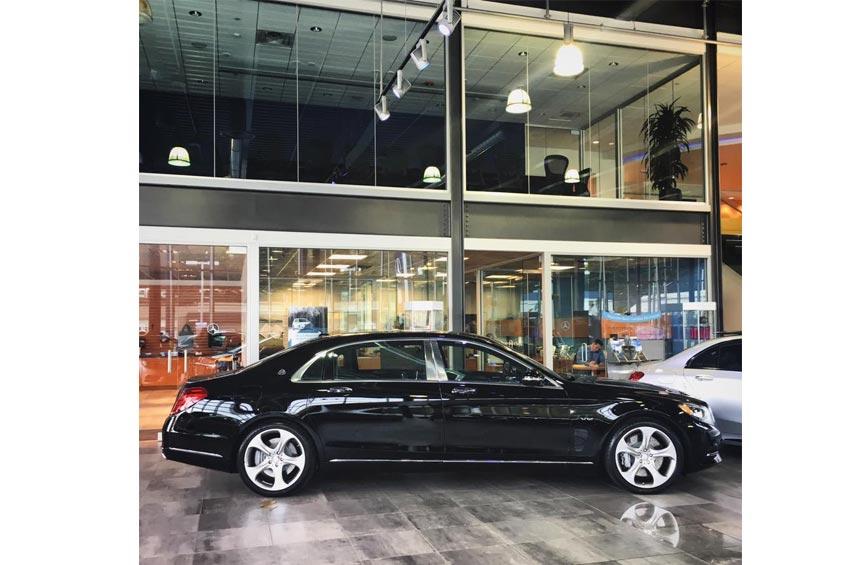 Mercedes Benz Seattle - showroom